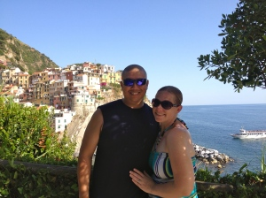Cinque Terre is at the top of my list of places we have visited. It is amazing and I can't wait to go back!