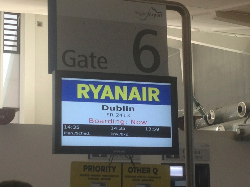 When flying in Europe - use RyanAir! Cheap and reliable - and if nothing else, entertaining. Honestly, on what other airline will they sell you smokeless tobacco?