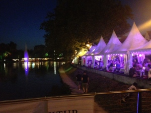 The Boblingen Essen Fest - great event to attend for a low-key night!