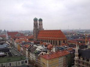 The Frauenkirche from St. Peters