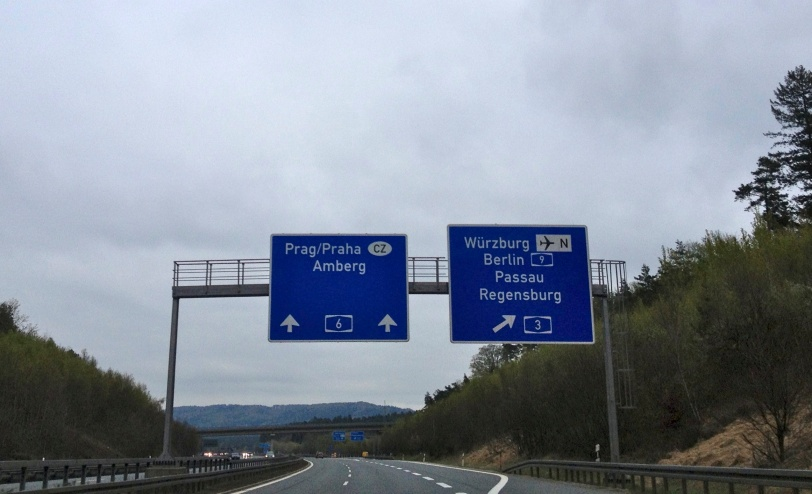 Driving to Prague...or Praha!