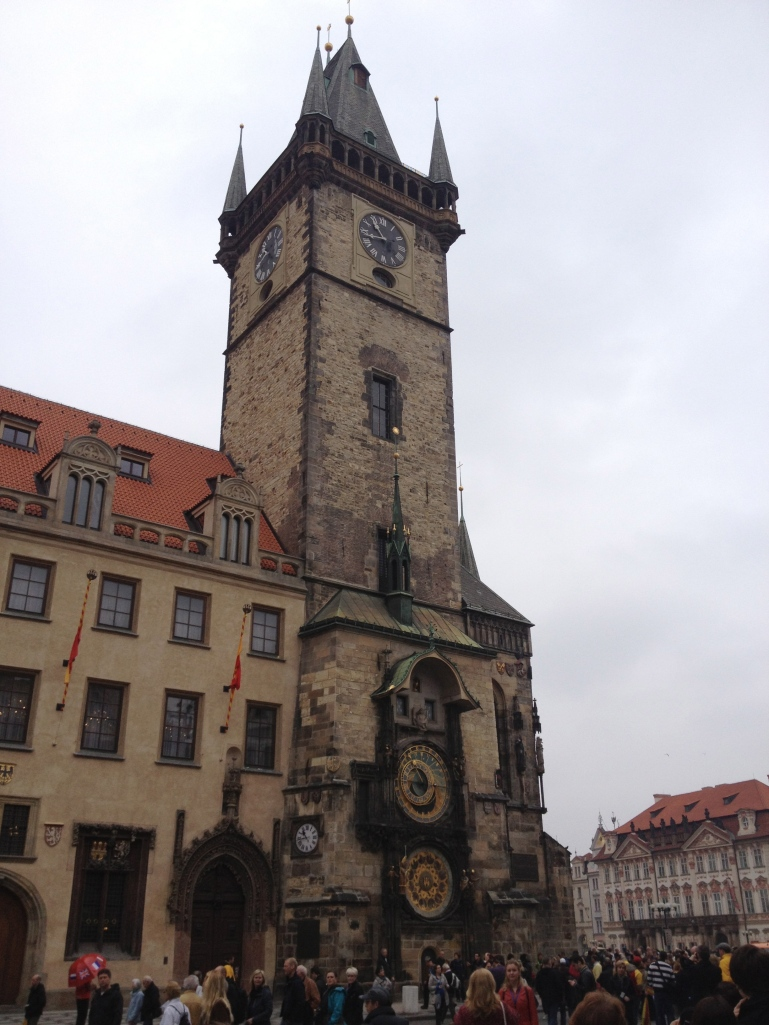 The Astronomical Clock!