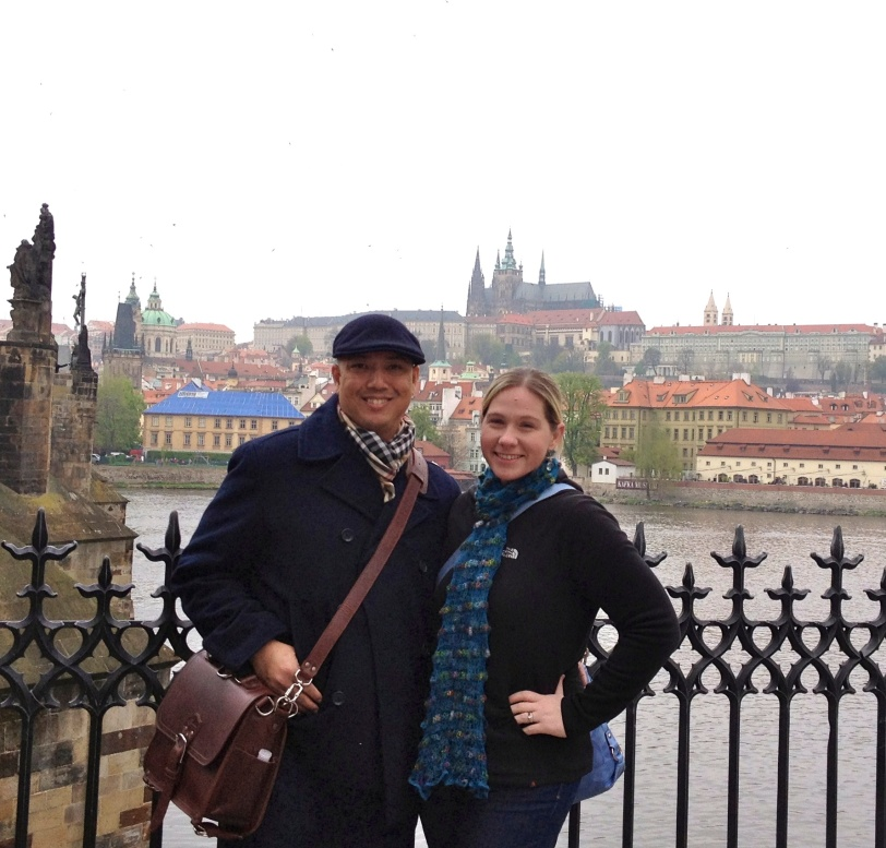 The Prague Castle from the Charles Bridge
