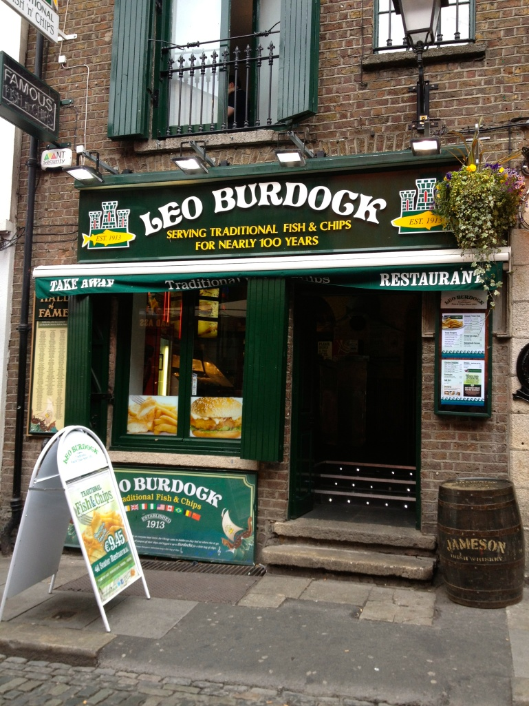 Famous for their Fish and Chips - try it out! (I recommend the chicken!) :-)