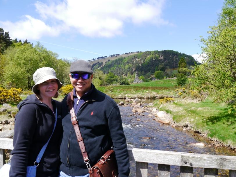 John and me at Glendalough