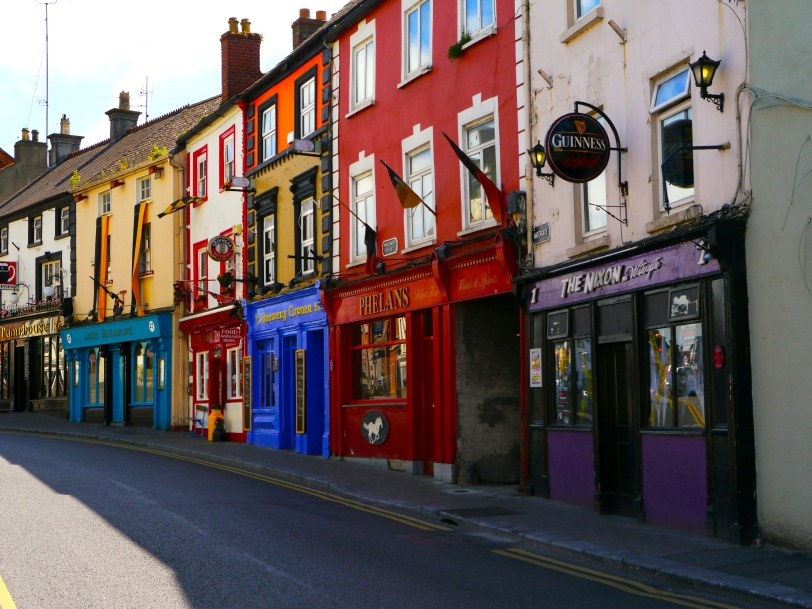 The main street in Kilkenny - a colorful little town that was a delightful surprise!