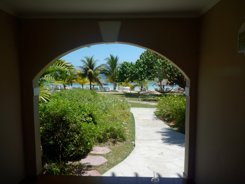 The view from out Couples San Souci suite!