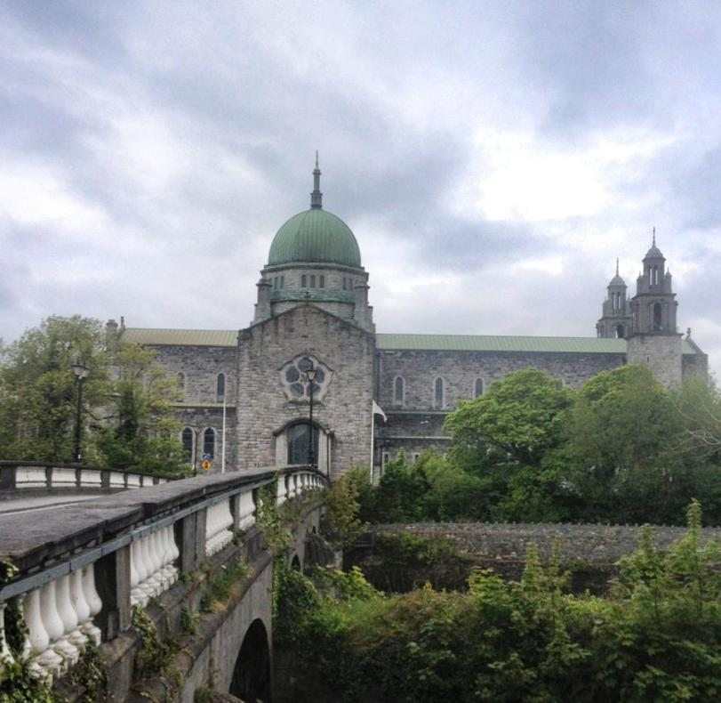 There are things to see besides pubs...such as the Galway Cathedral! :-)
