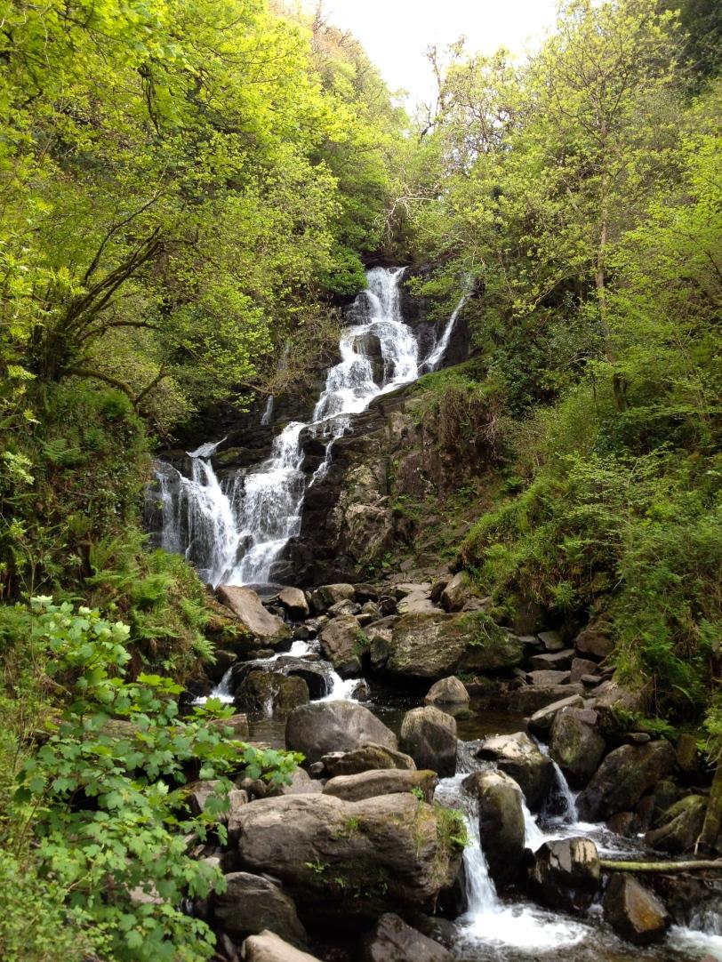 The pretty falls!
