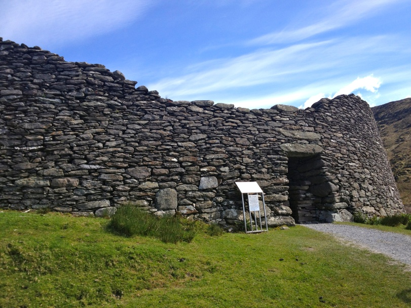 The Staigue Fort - built using no mortar.