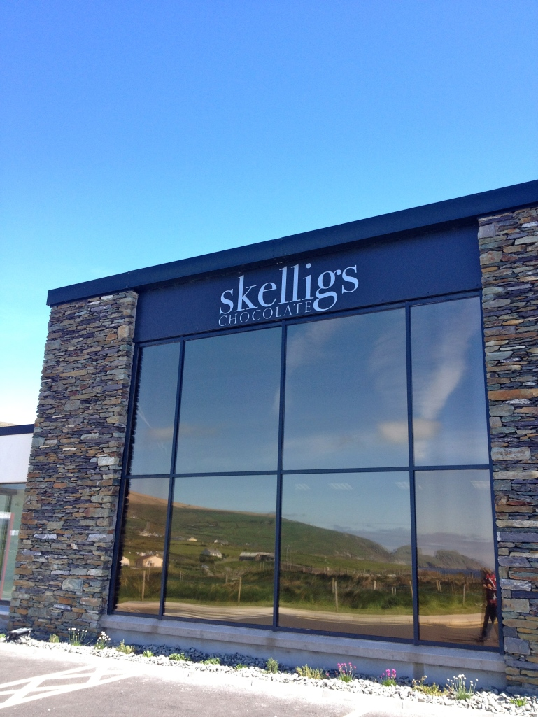 A highlight of adding in the extra Skellig loop? The Skellig Chocolate Factory! So yummy!!