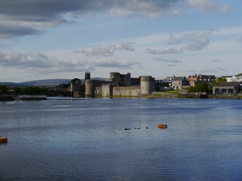 King John's Castle in Limerick. Sadly, it was closed for renovations when we were there!