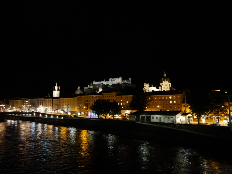 Salzburg at night - beautiful!