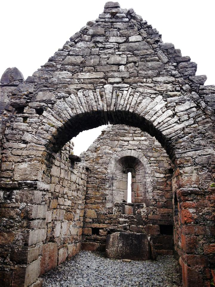 One of the ruins on the island!