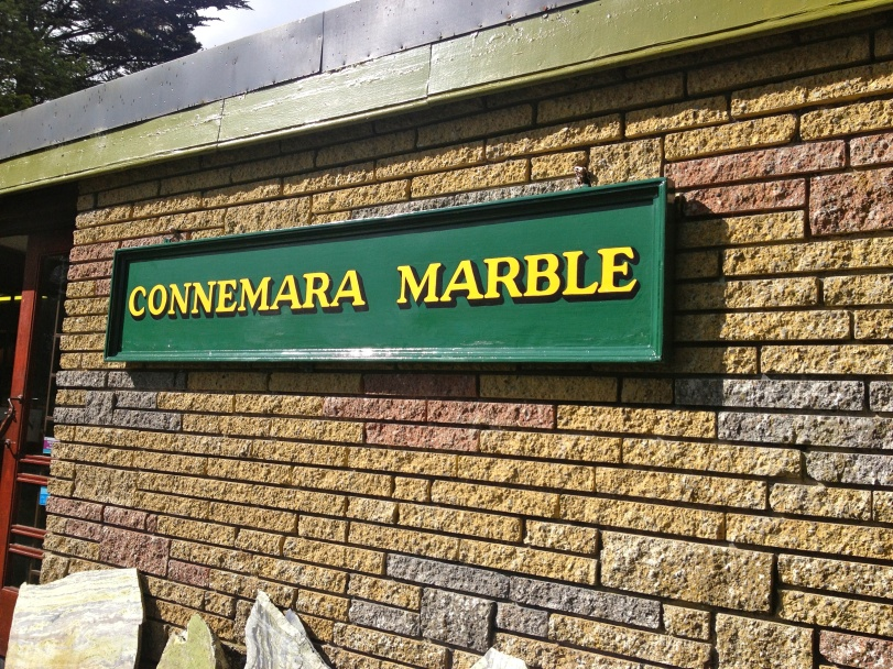 Our first stop out of town was to the Connemara Marble outlet store - some very nice goodies were found here!