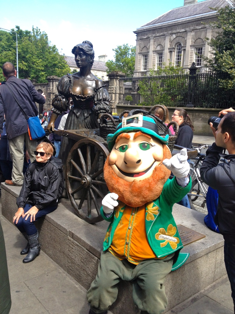 Molly Malone - whose song is the unofficial anthem of Dublin
