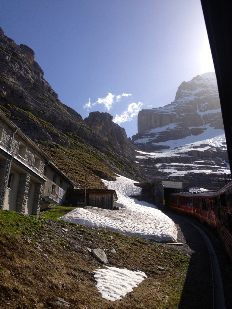 No words to describe the views on the way up to the Jungfraujoch