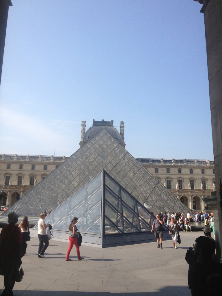 The Louvre!