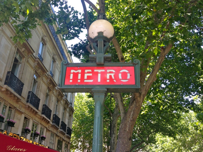 Loved the Metro signs for some reason - I just thought they were so cute.