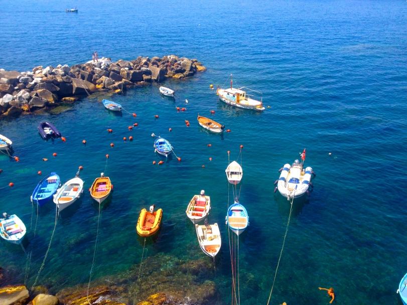 Picturesque bay in Riomaggiore!