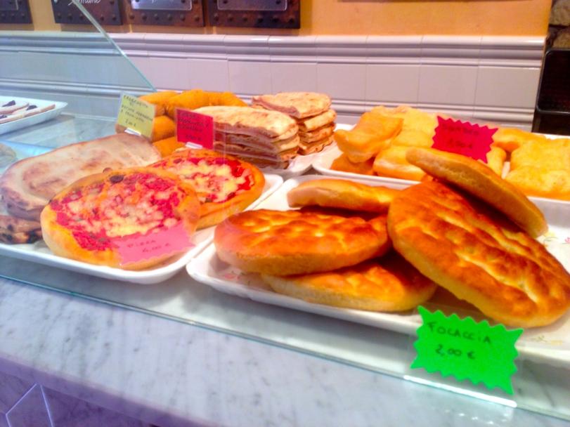 The foccacia bread also originated in the Cinque Terre region and makes an excellent companion to the pesto!