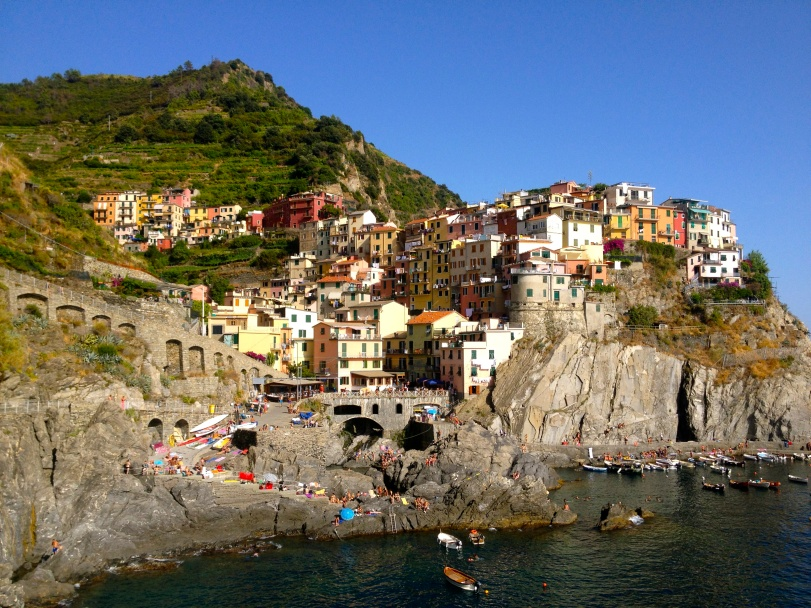 My absolute favorite picture - it captures the stunning, colorful, inviting place that is the Cinque Terre region.