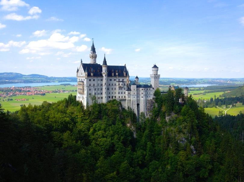 The Disney castle. It's amazing.