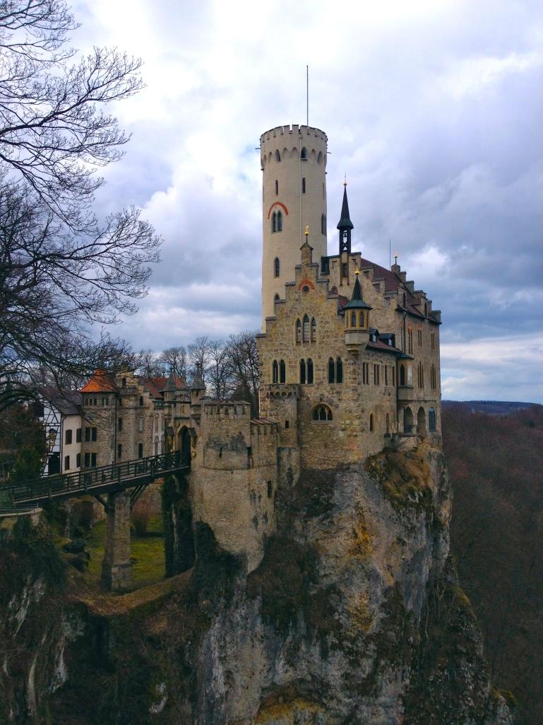 Lichtenstein - How this was built, I have no idea!