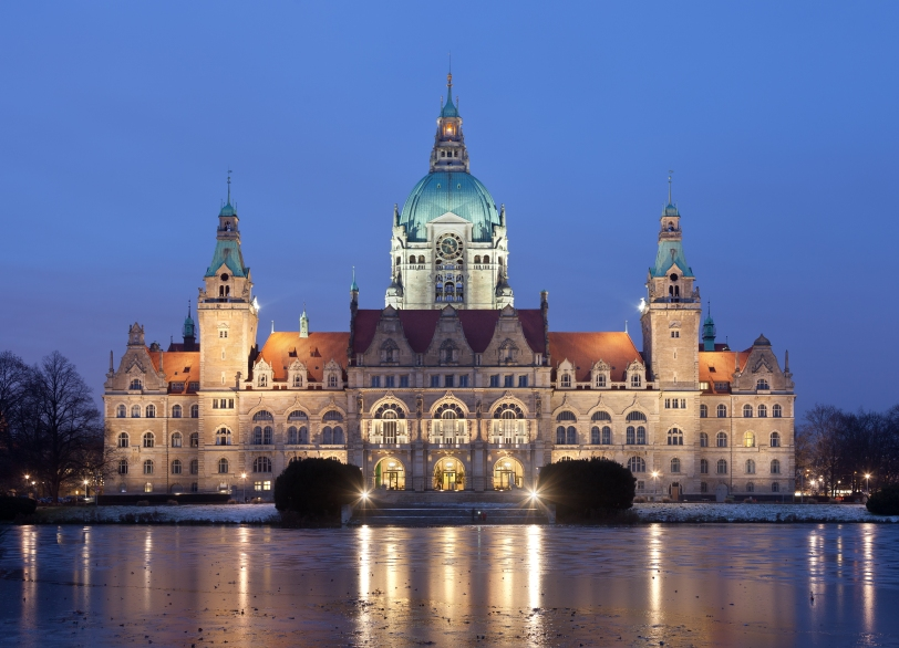 The Hannover Neues Rathaus!