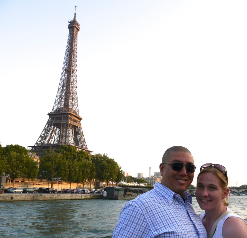 On the Seine River Cruise