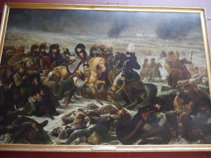 One of the many works of art depicting Napoleon