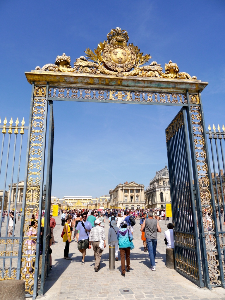The ornate gates