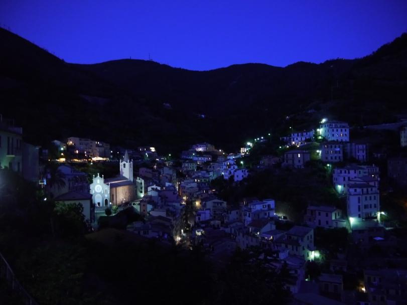Riomaggiore was so peaceful at night.