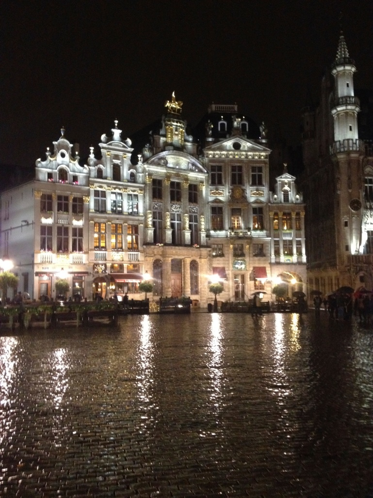 More of the buildings around the Grand Place