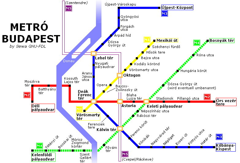 Yes, so Metro stations and stops can be confusing, but even mastering it can be satisfying!
