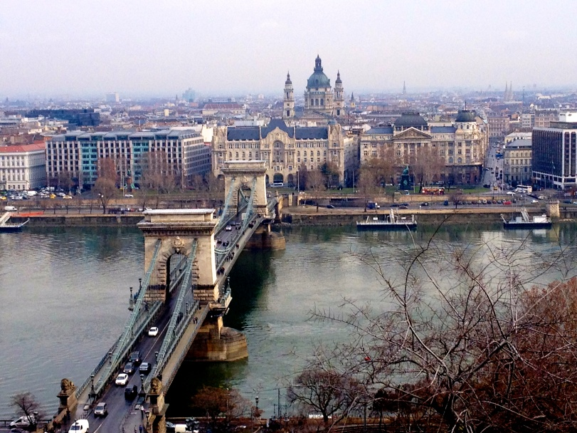 Pretty view of the Chain Bridge and the St. Stephens Basilica!