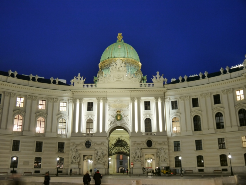 The Palace-turned-museum in the main area of Vienna!