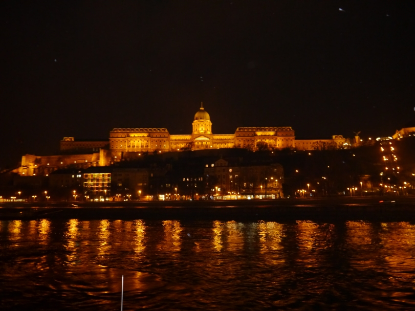 The Buda Castle at Night…so pretty!