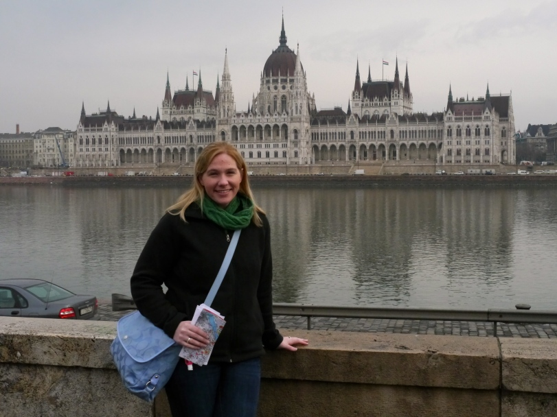 Starting day 2 admiring my favorite building from across the Danube River!