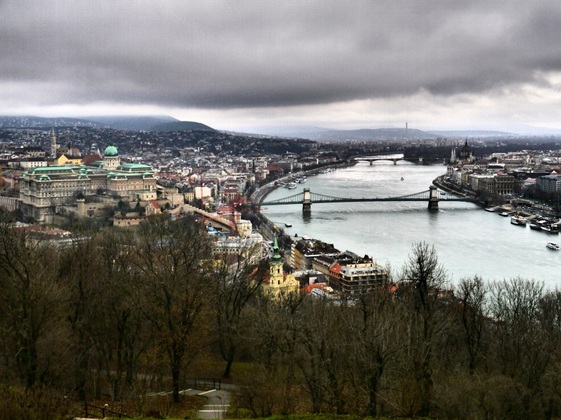 The UNESCO recognized view from Gellert Hill!