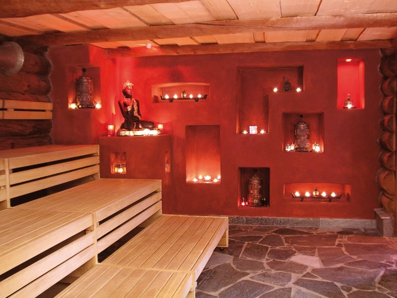 The Meditation Sauna room