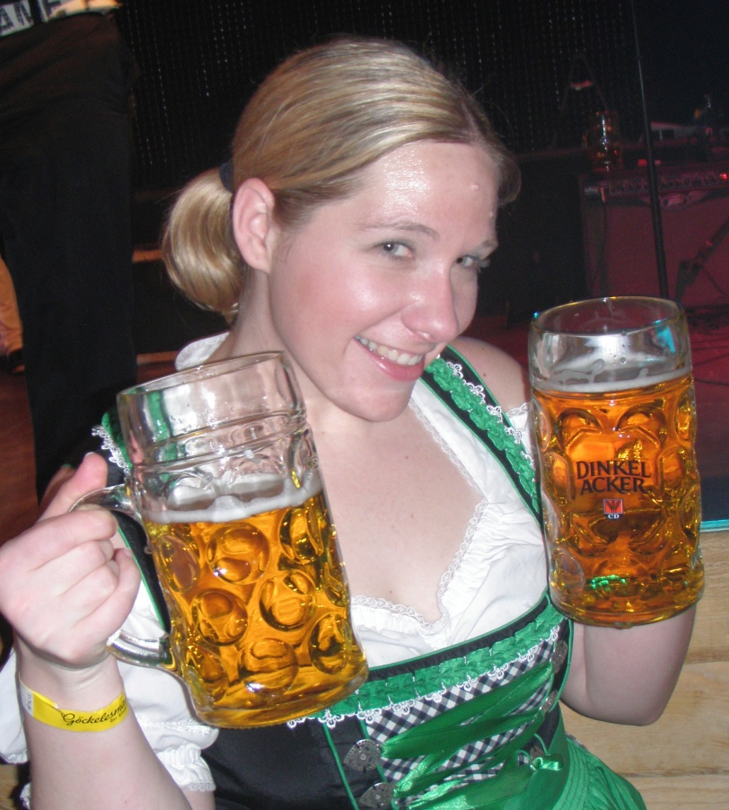 I would love a Stein from the Fest…I would not love dealing with Security to get it!