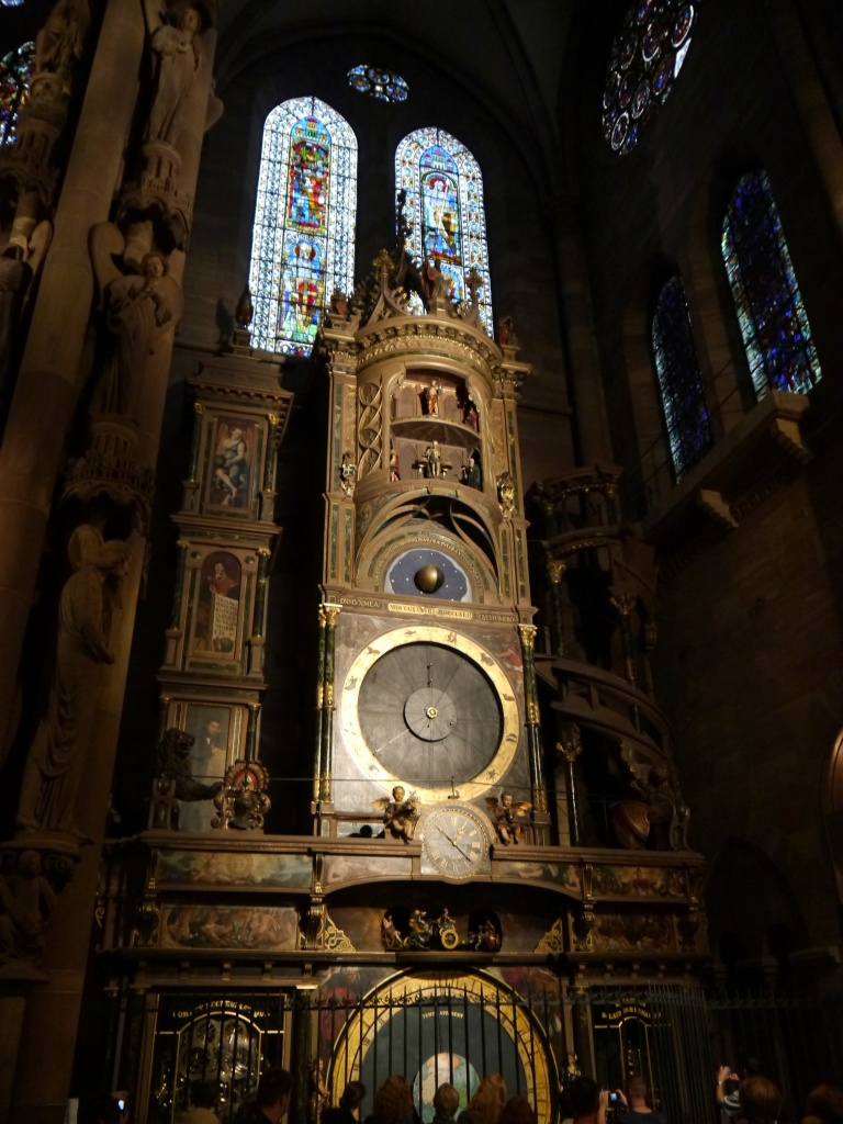 The Astronomical Clock inside the Cathedral