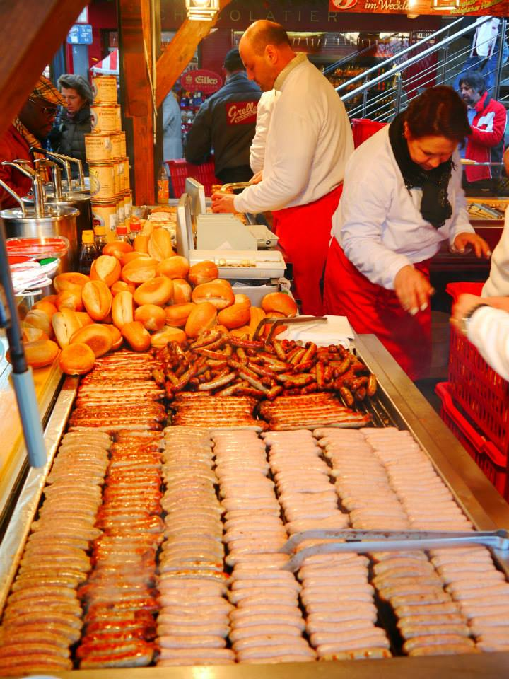 German wursts - so many to choose from!