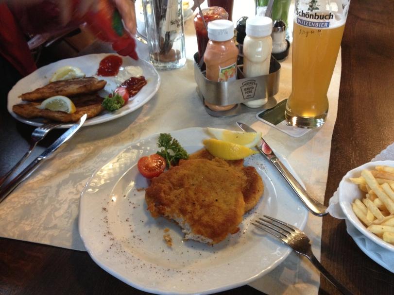 Yummy Schnitzel!