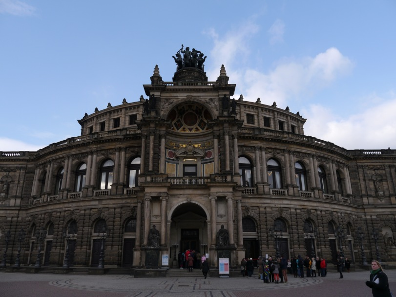 The Dresden Opera House