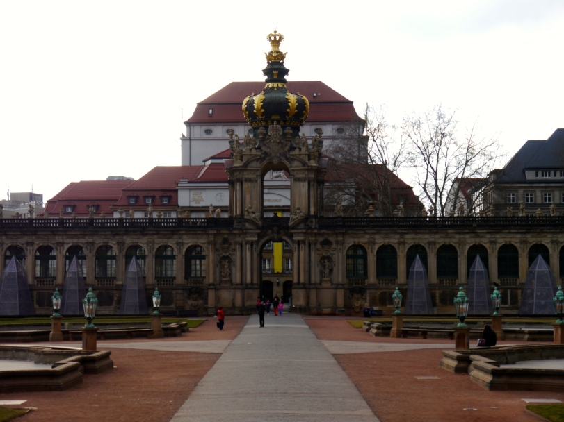 Dresden is a very walkable city with all of the main attractions within a couple of blocks from each other.