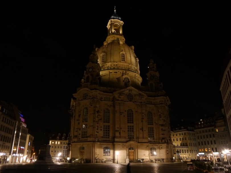 The first stop - the Frauenkirche, which was steps from our hotel.