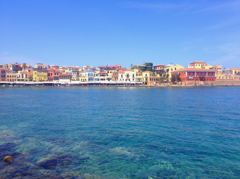 The old Venetian Harbor. The colors were so bright and the water was ridiculously clear!