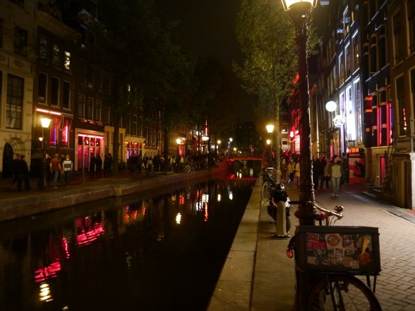 First view of the Red Light District